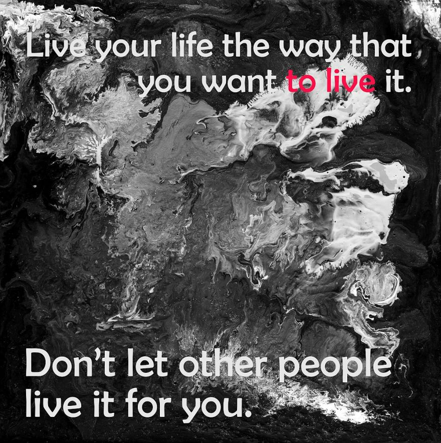 Live your Life black Low